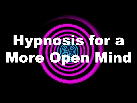 Hypnosis for a More Open Mind