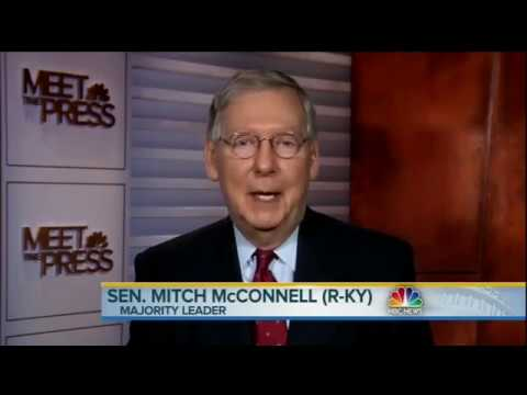 Mitch McConnell admits Republican blocked Merrick Garland nomination because of Obama