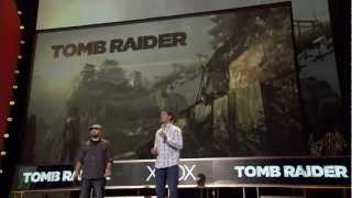 Tomb Raider E3 Microsoft Press Conference Gameplay