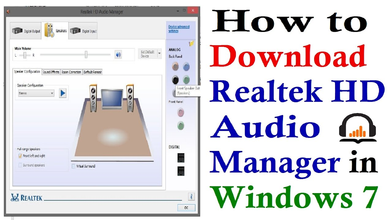realtek high definition audio driver download windows 7 64 bit