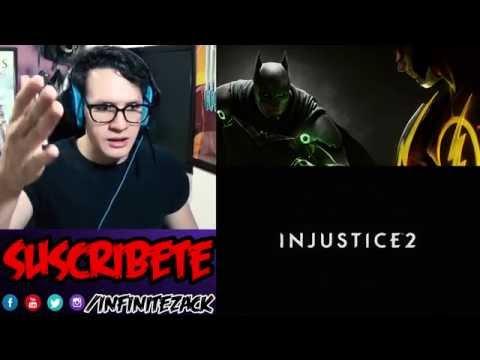 Injustice 2 Trailer Cinematico | REACCIÓN