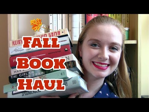 Fall Book Haul! | November 2017