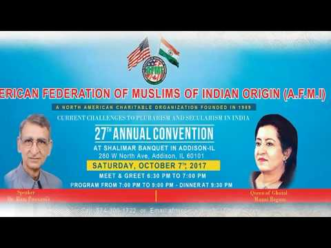 American Federation of Muslims of Indian Origin AFMI Convention