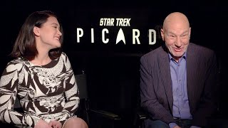 Star Trek: Picard cast wrestles with A.I. (full cast interview)