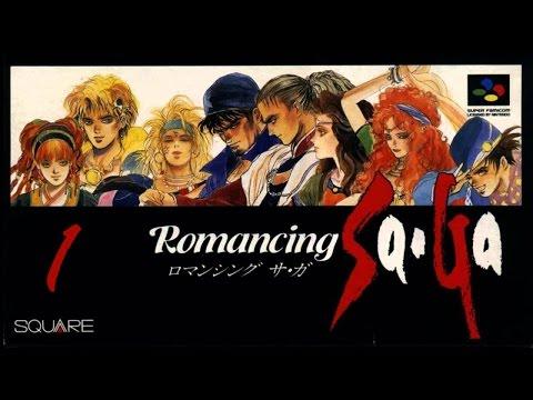 Let's Play Romancing SaGa Part 1 - Mystery Girl Claudia