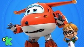 O traje está descontrolado! | Super Wings | Discovery Kids Brasil