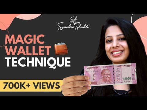 Attracting Money 101: The Magic Wallet Technique (Re-upload)