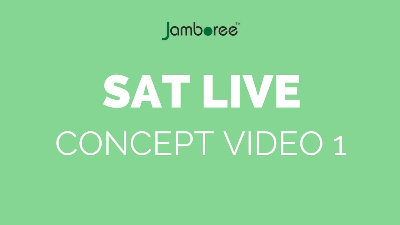 SAT Sample Test | Jamboree Education