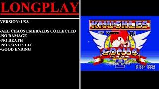 Knuckles The Echidna in Sonic The Hedgehog 2 (Sega Mega Drive / Genesis) - (Longplay)
