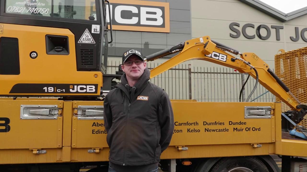 Jim Anderson | JCB #MightyMini Winner