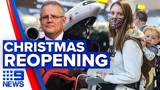 Coronavirus: Scott Morrison confident Australia to open up by Christmas   9 News Australia