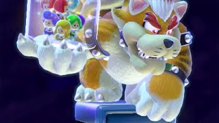 Super Mario 3D World - All Bosses (4 Players)