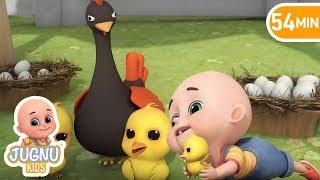 Numbers Song - Chicken | Jugnu Kids Nursery Rhymes & Kids Songs