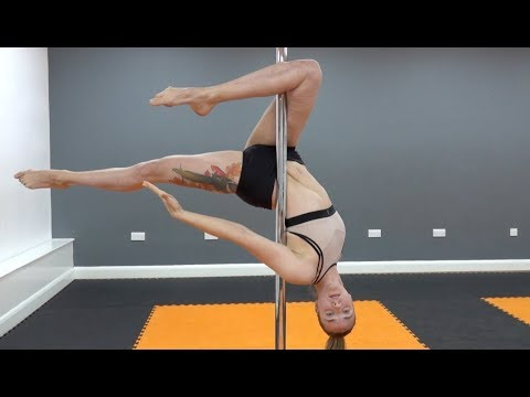 POLE Fitness, CRAZY Dancing Workout !!
