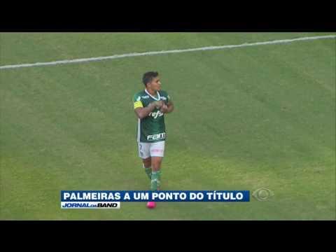 Palmeiras precisa de um empate para ser campeão brasileiro