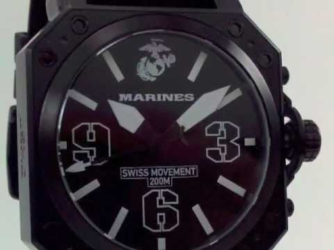 Marine Watches Officially Licensed by the USMC @ Valencia Time Center
