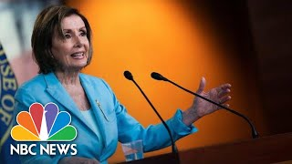 Nancy Pelosi Holds Weekly Press Conference