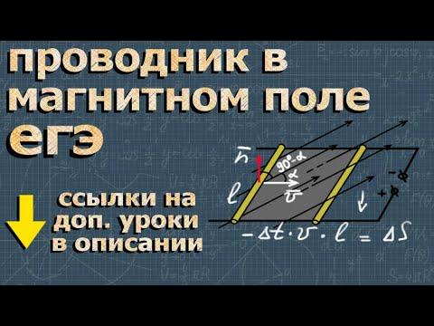 ЕГЭ ФИЗИКА 25 задание разбор ЭДС индукции