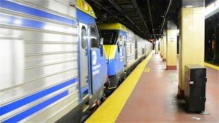 LI Extra 517 East w/ FOUR DM30ACs and 13 Cars @ NYP