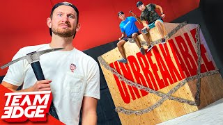 Step aside YouTubers, We took the Unbreakable Box Challenge up a notch.......