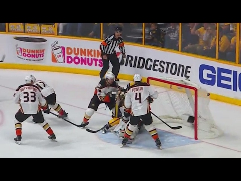 Forsberg scores moments after 'heated' exchange with Gibson