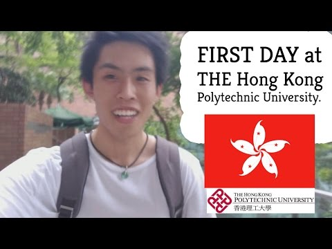 FIRST DAY at Hong Kong Polytechnic University (PolyU) | [VLOG #5]