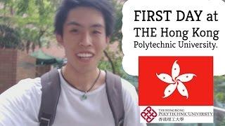 FIRST DAY at Hong Kong Polytechnic University (PolyU) | [VLOG #5] thumbnail