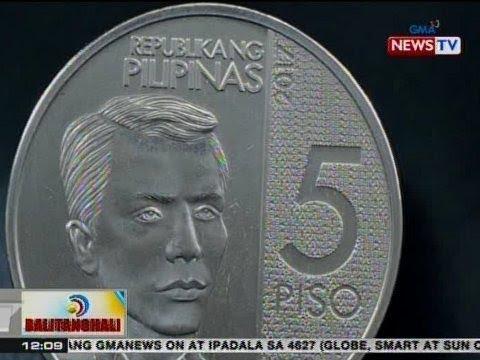 BT: Bagong disenyo ng P5 coin, tampok si Gat. Andres Bonifacio