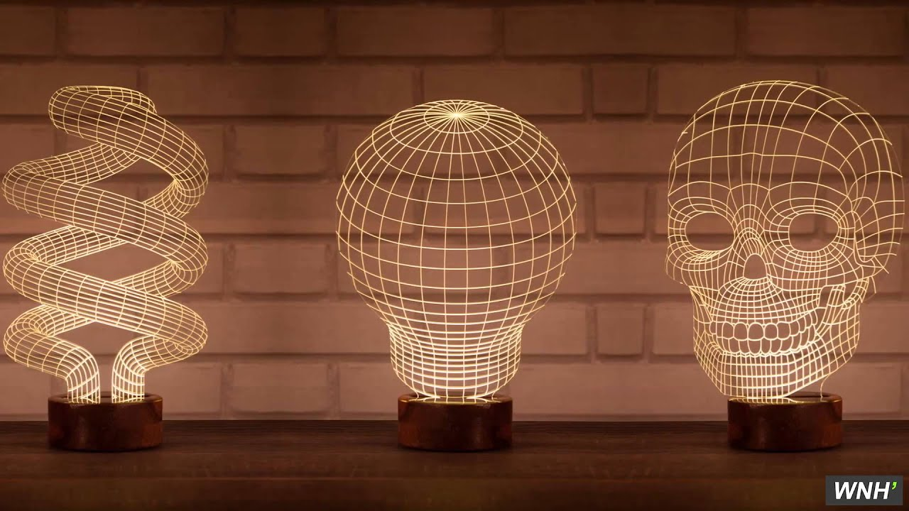 Lumin rias em led luce 3d loja wnh youtube for Luminarias de exterior led