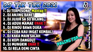 Download lagu DJ TIK TOK TERBARU 2021 SLOW REMIX - DJ TERPESONA VIRAL FULL BASS 2021