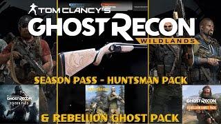 Season Pass, Huntsman & Rebellion Ghost Pack - Ghost Recon Widlands