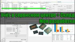 видео Программа для сервисного центра