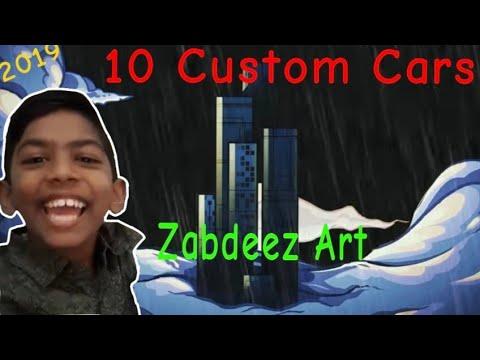 CUSTOMS Paint Disney Pixar Cars - Zabdeez Art