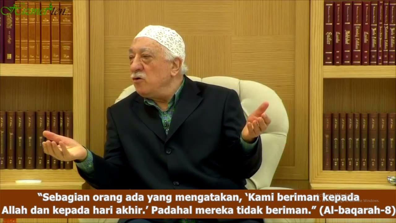 M. Fethullah Gulen | Saya Akan Tuntut Nanti Di Hadapan Allah SWT