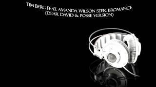 Tim Berg feat. Amanda Wilson - Seek Bromance (Dear David & Posse Version)
