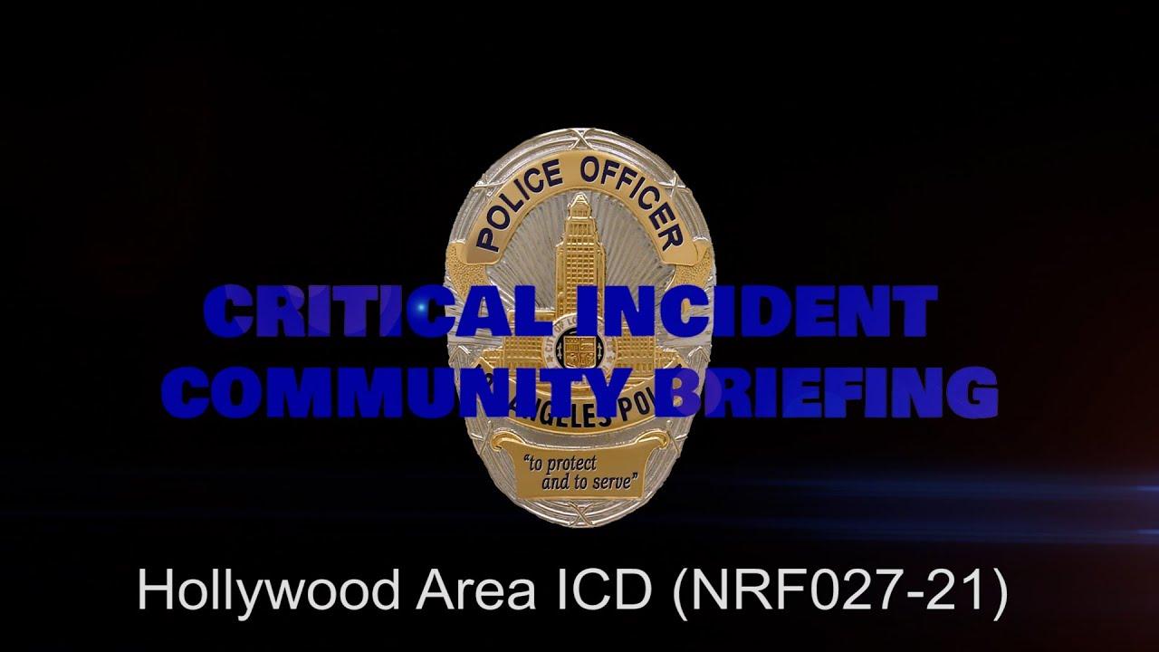 Hollywood Area ICD 5/1/21 (NRF027-21)