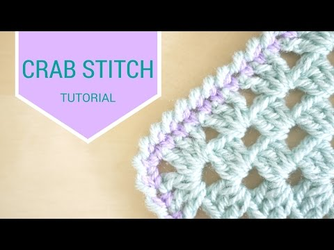 CROCHET: Crab stitch tutorial | Bella Coco