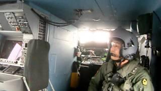 SH-60K飛行機内
