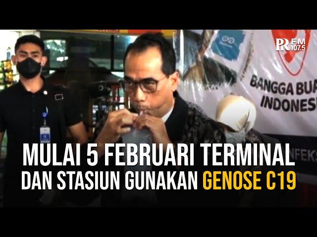 Stasiun Kereta dan Terminal Bus Gunakan Alat Tes GeNose C19 Buatan UGM Mulai 5 Februari 2021