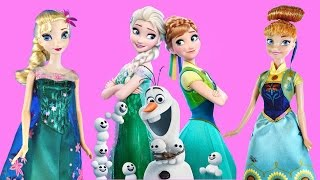 NEW 2015 Disney Frozen Fever Birthday Party Queen Elsa and Princess Anna Barbie Dolls