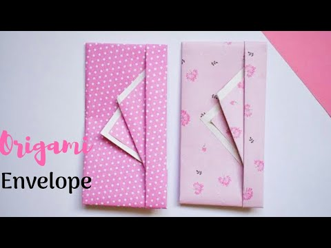 Easy Gift Envelope for Birthday | DIY Money Envelopes | Easy Envelope Folding Ideas