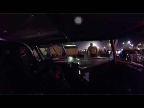 Incar camera. Braxton Strait Gas City Speedway.