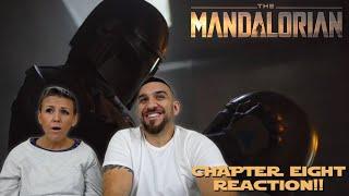 The Mandalorian Chapter 8 'Redemption' Finale REACTION!!