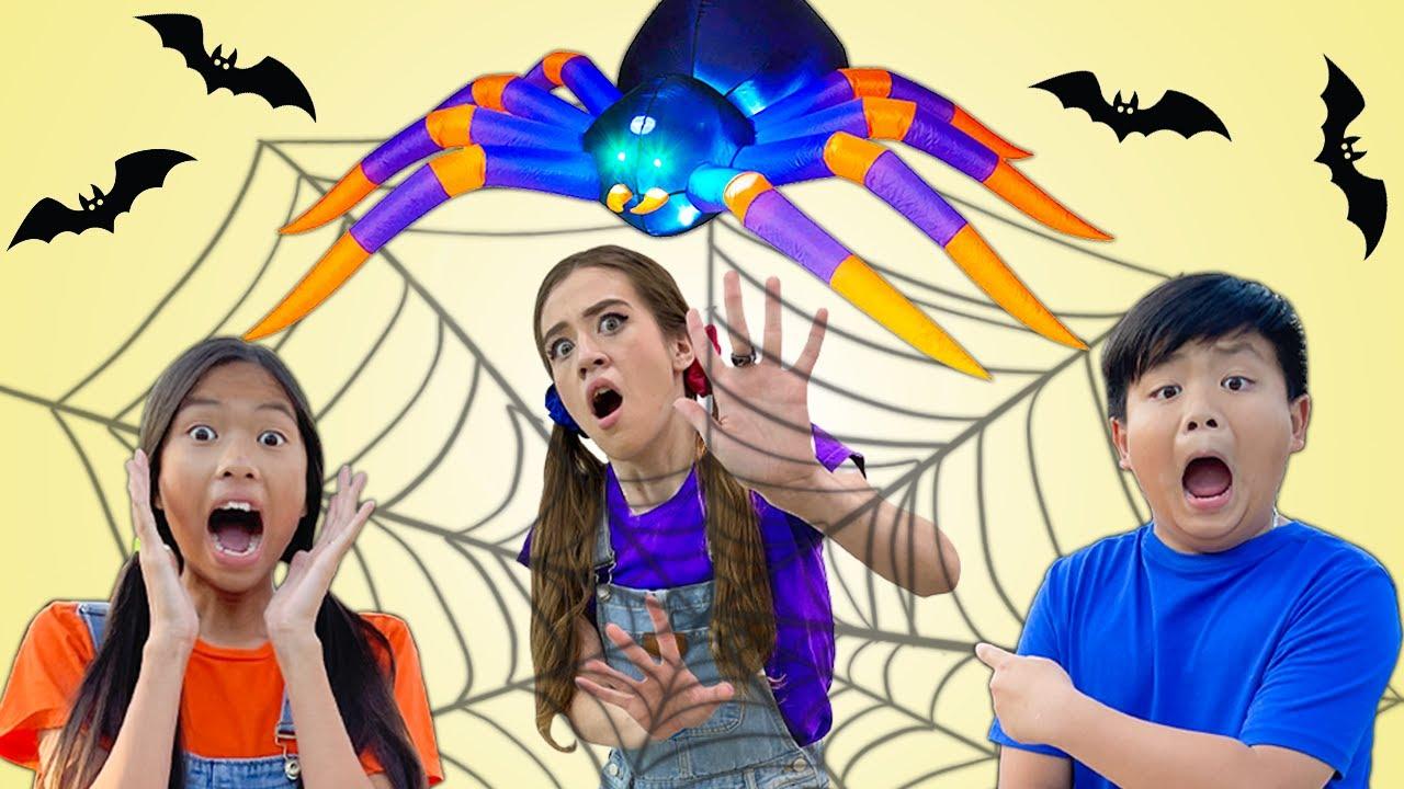Wendy and Alex Help Save Halloween  Kids Halloween Maze Mysterious Adventure