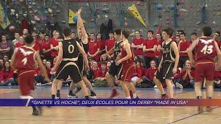 "Yvelines | Ginette VS Hoche, Deux écoles pour un derby ""made in USA"""
