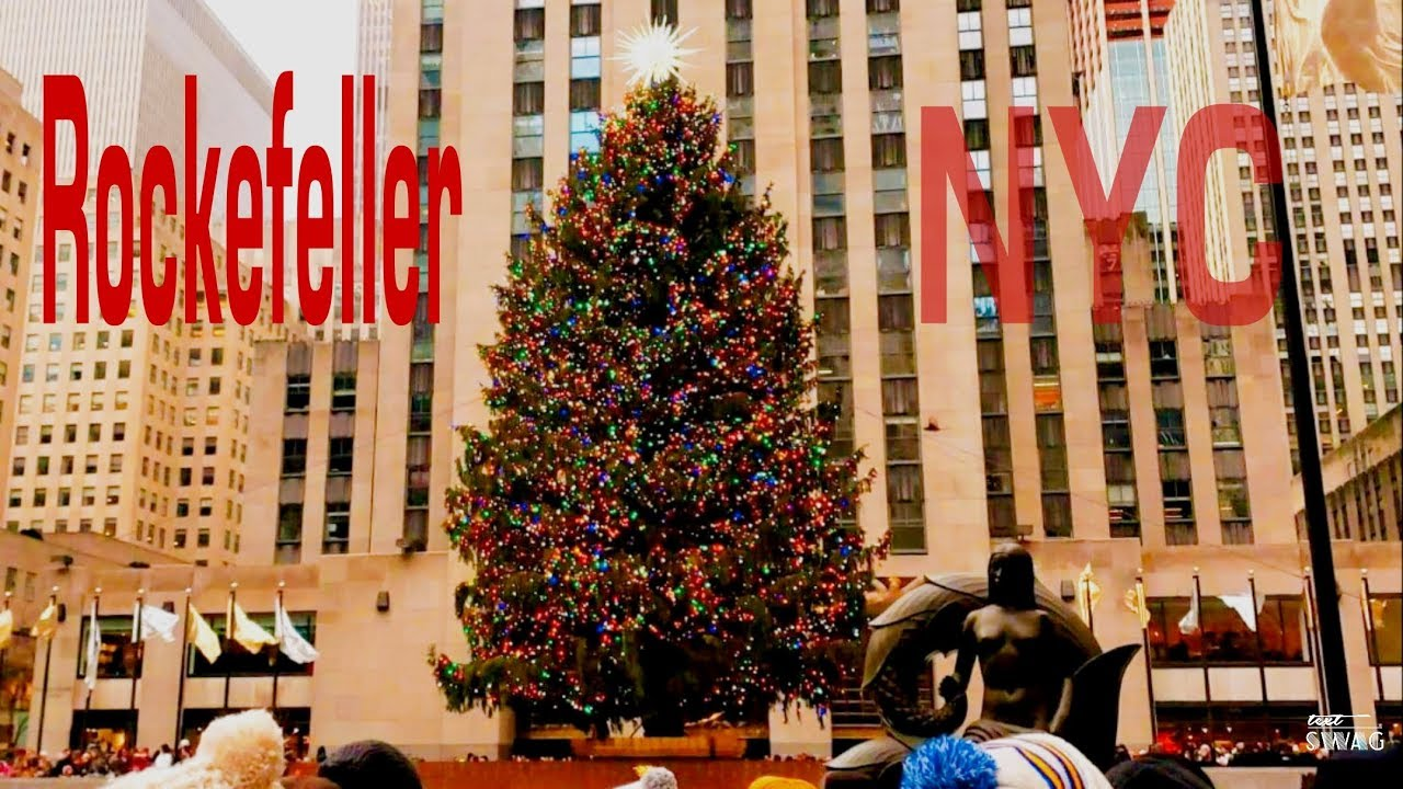 Rockefeller Center Christmas Tree In New York City 2018 - YouTube