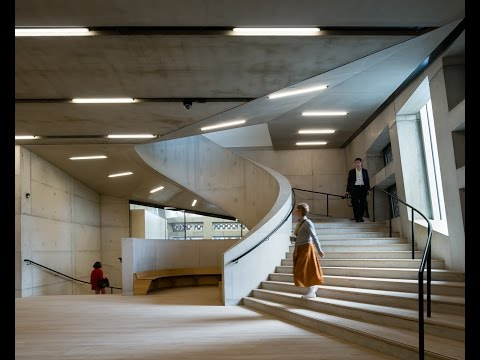 AJ BUILDING STUDY: Tate Modern Switch House by Herzog & de Meuron