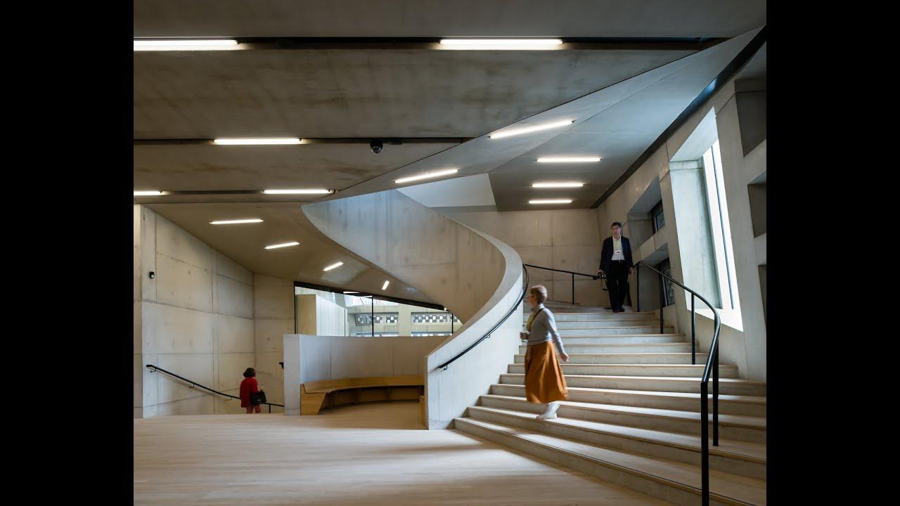 Aj building study tate modern switch house by herzog de for Switch house tate modern architecture
