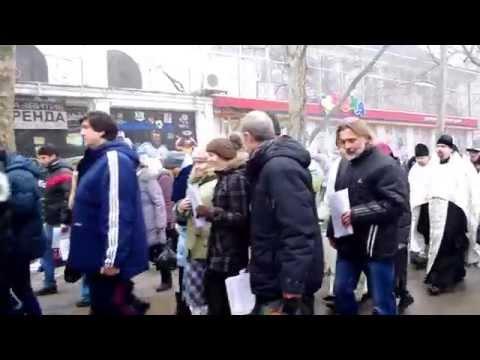 Крестный ход в Николаеве