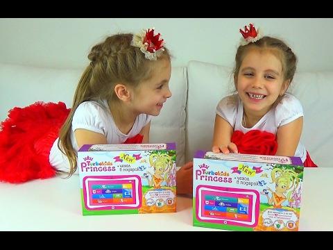 КОНКУРС. ПРИЗ ПЛАНШЕТ TURBOKIDS Princess NEW + чехол в подарок.  Детский канал Расти вместе с нами